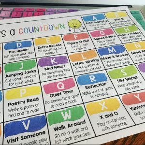 Countdown to summer ABC chart