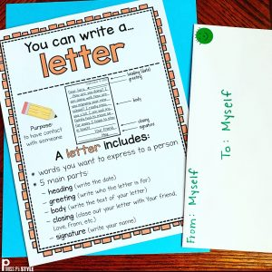 Letter Writing Poster