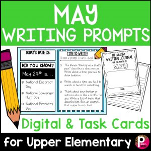 May Writing Prompts and Writing Journal