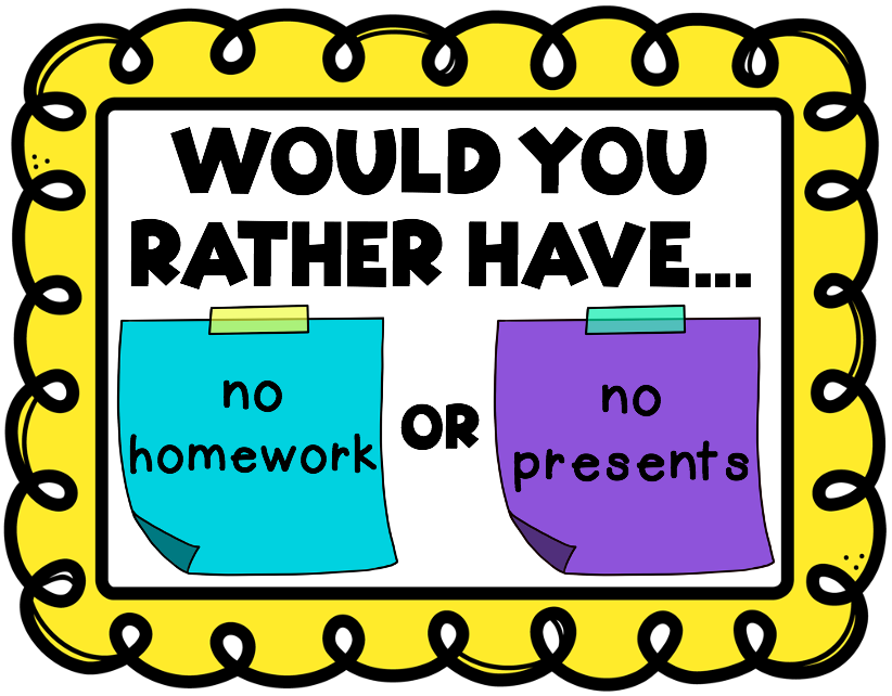 Would You Rather student engagement slides