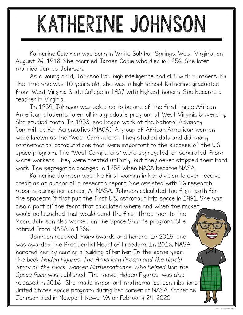 black history activities