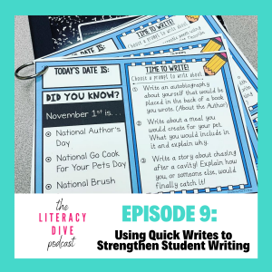using-quick-writes-to-strengthen-student-writing